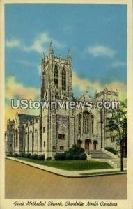 First Methodist Church Charlotte NC Unused