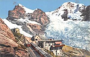 Switzerland Old Vintage Antique Post Card Eiger Unused