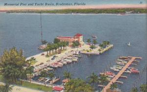 Memorial Pier and Yacht Basin, Bradenton, Florida, 1930-1940s