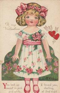 VALENTINE'S DAY ; Artist HAYS , My Dainty Dolly , 1914 ; NISTER 2774