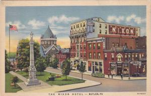 The Nixon Hotel, Butler, Pennsylvania, 30-40s
