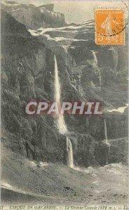 Old Postcard Gavarnie La Grande Cascade (422 m) LL