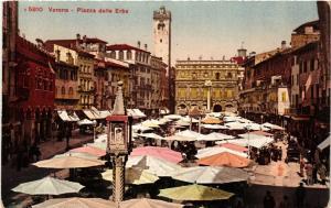 CPA VERONA Piazza delle Erbe . ITALY (493520)
