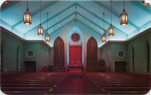 Hanover Pennsylvania~Trinity Evangelical and Reformed Church Interior~1950s