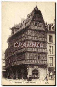 Old Postcard Strassburg Maison Kammerzell