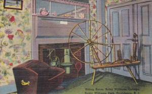 Rhode Island Providence Sitting Room Betsy Williams Cottage Roger Williams Pa...
