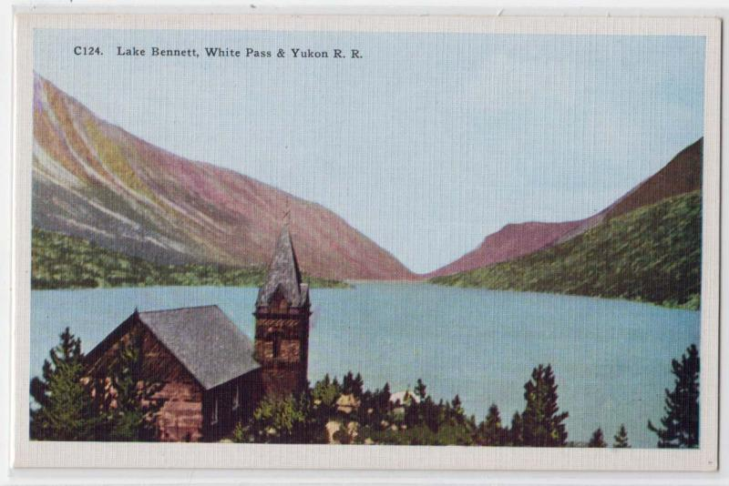 Lake Bennett, White Pass & Yukon RR