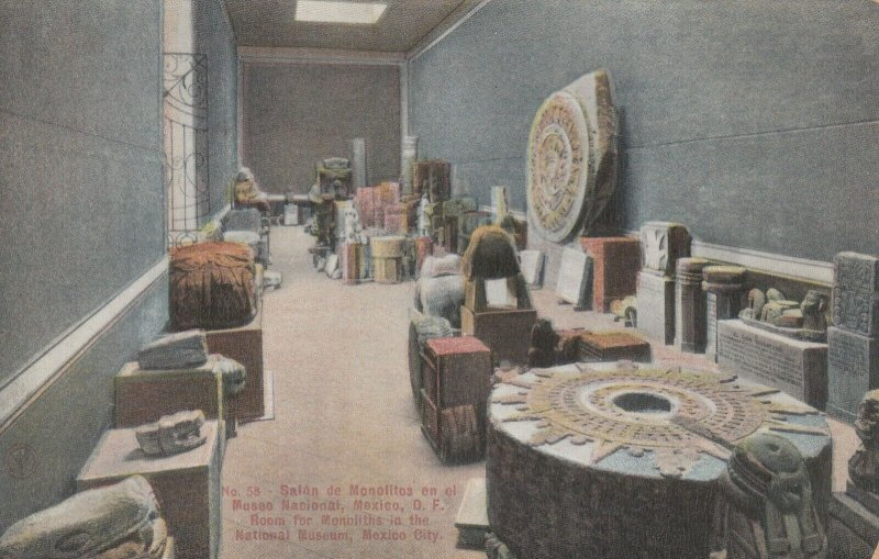 MEXICO CITY , 1900-10s ; Museum