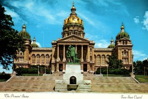 The Pioneers Statue,State Capitol,Des Moines,IA BIN