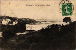CPA  Carteret - Villa La Bucaille et la Plage  (632856)