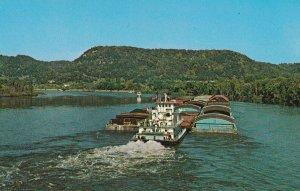 MISSISSIPPI, 1950-1960'S; Mississippi Tow Boat, Mississippi River