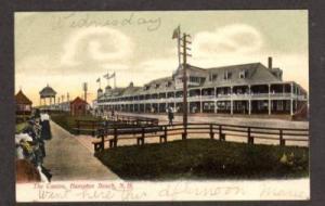NH Casino HAMPTON BEACH NEW HAMPSHIRE Postcard PC UDB