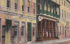 South Carolina Charleston Dock Street Theatre