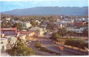 Overlooking Town, Montego Bay, Jamaica, 1964 Chrome