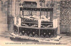 Lit D'Honneur de Christ Du Bienheureux de Montfort France Unused
