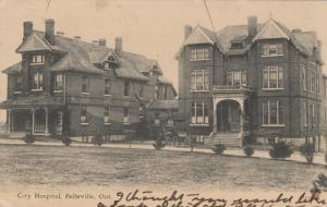 BELLEVILLE , Ontario, Canada, 1907 ; City Hospital
