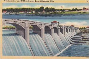 Ohio Columbus Zoo And O Shaughnessy Dam