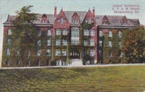 Pennsylvania Shippensnsburg Ladies Dormitory C V S N School 1910