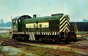 El Dorado & Wesson Railway Alco S-2 Locomotive Number 20