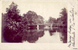 MR. JONES' BRIDGE IN WESTCHESTER, CT NO RELATION TO MISS BERTHA JONES 1907