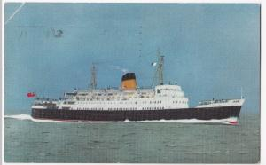 TSS Duke of Rothesay PPC, British Railways Official, 1960 Civil Defence PMK