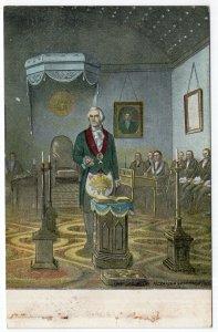General Washington at the Altar