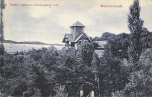 hungary, BALATONALMÁDI, Balaton-Szálloda a Remete-Sétány Felöl (1910s)