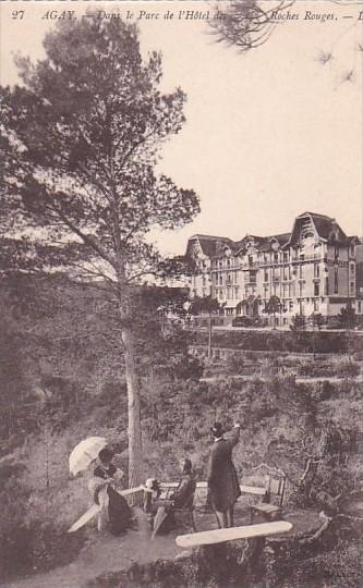 France Agay Dans le Parc de l'Hotel des Roches Rouges