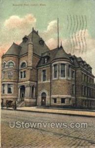 Memorial Hall Lowell MA 1907
