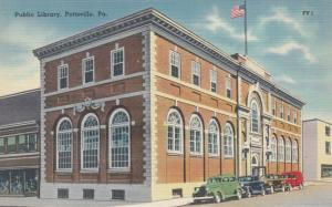 POTTSVILLE , Pennsylvania , 1930-40s ; Public Library