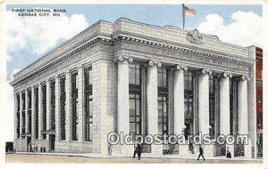 First National Bank Kansas City, MO, USA Unused