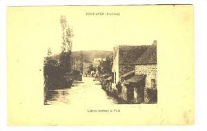 Pont Aven (Finistere) , France, 00-10s ; L'Aven traverse la Ville