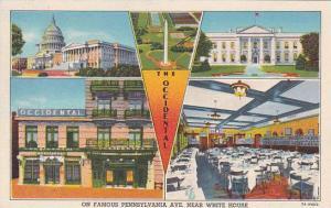 Washington DC The Occidental On Famous Pennsylvania Avenue Near White House