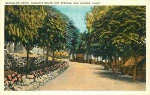 Bungalow Gilman's Relief San Jacinto 1920s Riverside California Postcard 20-2219