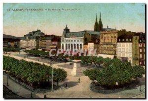 Clermont Ferrand Old Postcard Place de Jaude