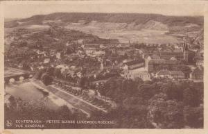 Echternach , Luxembourg, Panorama 1910s