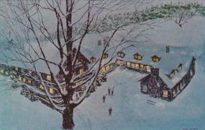 Trapp Family Lodge On A Moonlit Winter Night Berkeley California