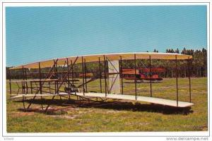 Airplane - 1903 Wright Brothers replica at - Santee SC Wings & Wheels , 50-60s