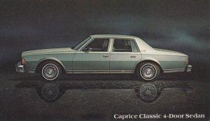 1978 Caprice Classic 4-door Sedan