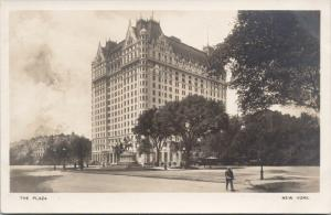 The Plaza New York NY Rotograph Unused Real Photo Postcard E39