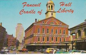 Massachusetts Boston Faneuil Hall Cradle Of American Liberty