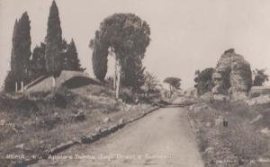 Roma Via Appia E Tombe Degli Orazi Antique Italy Italian Postcard