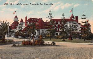 Hotel Del Coronado, Coronado, California, Early Postcard, Used in 1915