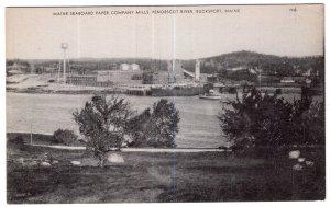 Bucksport, Maine, Maine Seaboard Paper Company Mills, Penobscot River