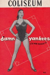 Donald Stewart Damn Yankees American Musical 1953 Hand Signed Theatre Programme