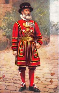 Raphael Tuck 9221 Yeomen of The Guard State Dress Henry The VIII Postcard