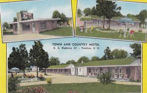 TRENTON , South Carolina , 30-40s ; Town and Country Motel