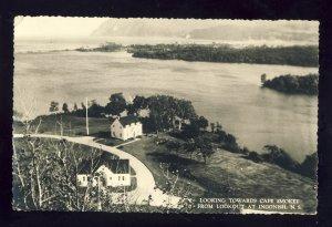 Ingonish, Nova Scotia/NS Canada Postcard, Looking Towards Cape Smokey