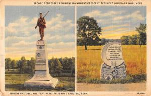 Pittsburg Landing Tennessee Shiloh National Military Park Postcard J79982