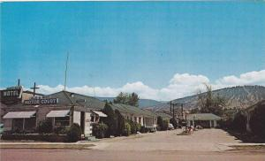 Exterior View, Blue and White Motor Court, Okanagan Beach, Penticton, British...